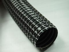 洗地机排水经纬尼龙线编织加强钢丝支撑管