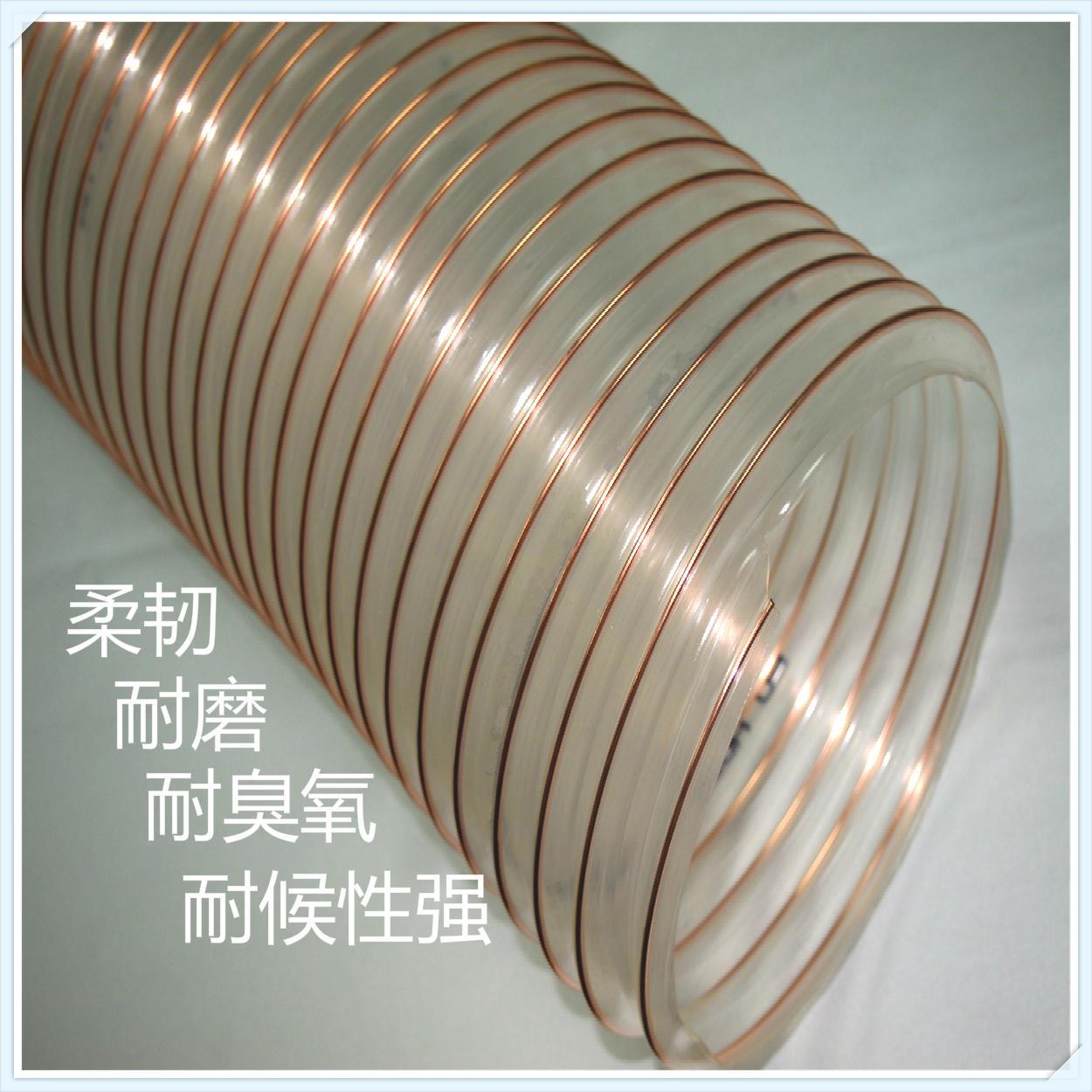 PU钢丝支撑物料输送管 4