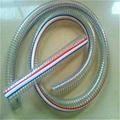 可压制不锈钢接头钢丝增强硅胶管 1