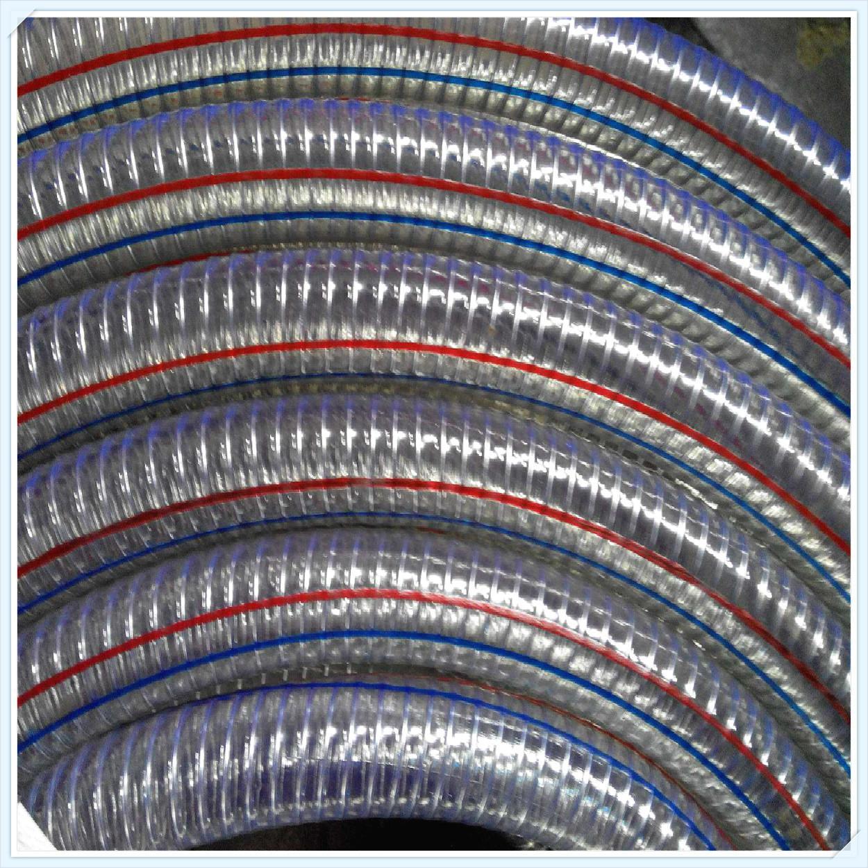可压制不锈钢接头钢丝增强硅胶管 2