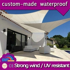Custom design sun shade sail with harwares