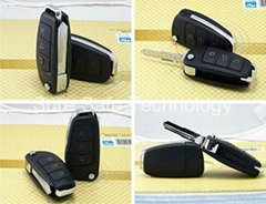 The infrared night version car key mini camera