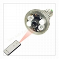 Bulb CCTV Security DVR Camera with Remote Control Light