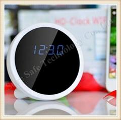 720P HD Mini Hidden Wifi Clock Camera