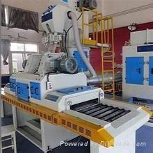 Imitation granite polishing machine