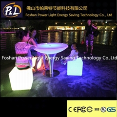 led furniture lighted chair