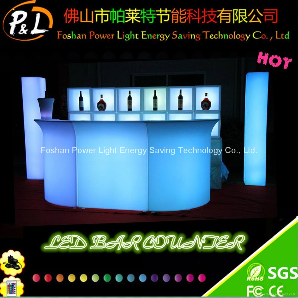 Rechargeable Color Changing LED Furniture for Bar 1