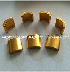Micro motor magnets