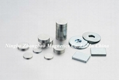 Permanent magnetic chuck magnets