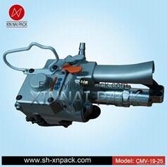 Xqd-19/25  pneumatic polypropylene band strapping tool