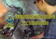铜矿开采设备液压静爆无声免爆机械设备