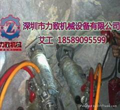 洞采金礦沒有聲音沒有震動的採礦設備