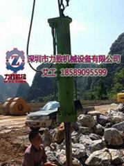 土石方替代膨胀剂开采机械设备