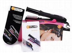Digital Display All in one Instyler Rotating Iron