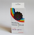 OEM available ! EYE CANDY Rainbow S Curl Air Volume Brush / Abundant hair brush