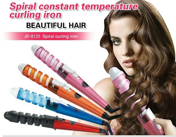 New Style Hair Curlers Spiral Curling Iron 2