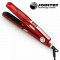 LED display professional steam hair straightener