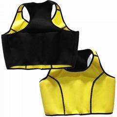Fashion Hot Shaper Vest Neoprene Yoga Vest women body shaper vest