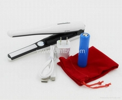 Hair Iron USB Rechargeable Hair Straightener Cordless Flat Iron