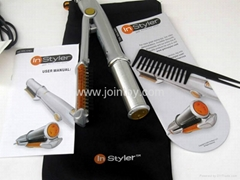 InStyler Rotating Iron Sliver hair rotating brush