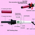 Professional Rotating Curling Iron automatic rotating hair curler 7