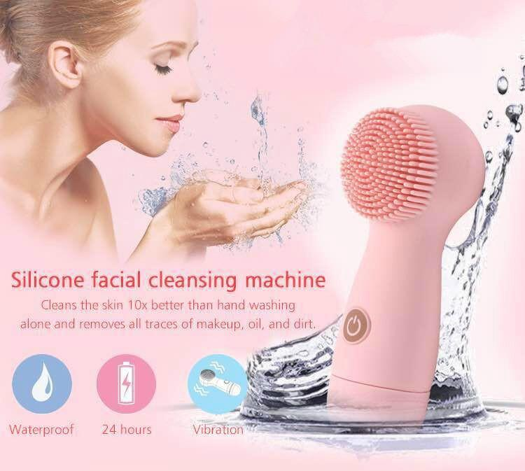 Skineat Portable Battery Operate Silicone Facial Cleansing Machine 5