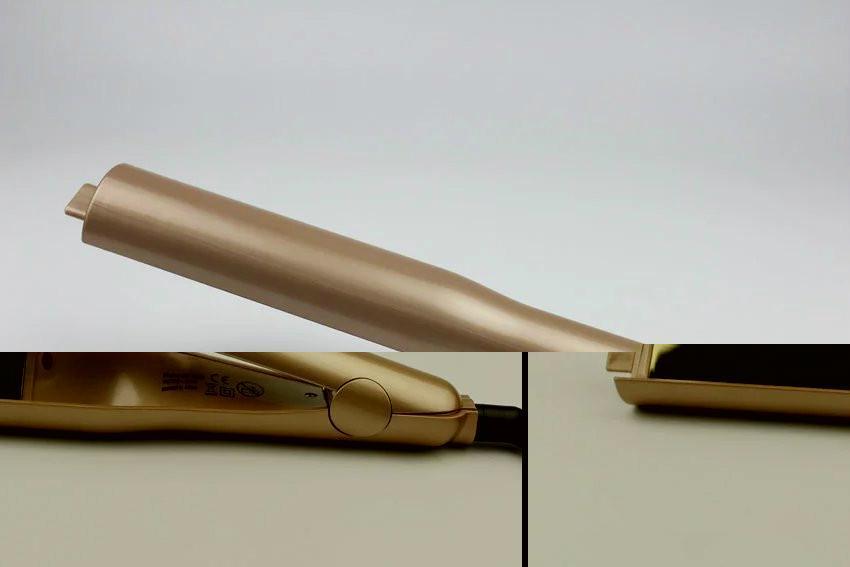 TYME Titanium Flat iron Hot sell Ceramic Fast Heating Twist Hair Straightener  7