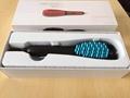 Electric LCD Display Sprayer Steam Fast Hair Straightener Anion Hair Comb Brush
