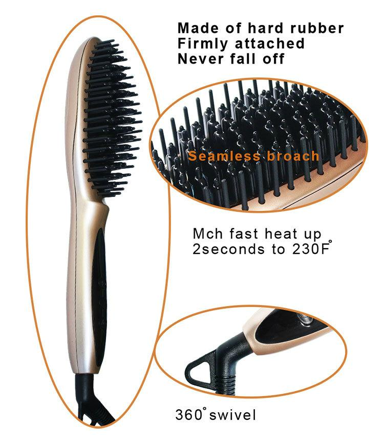 Magic Straight Hair Styling as seen tv Straightening Comb Fast Hair straightener 5