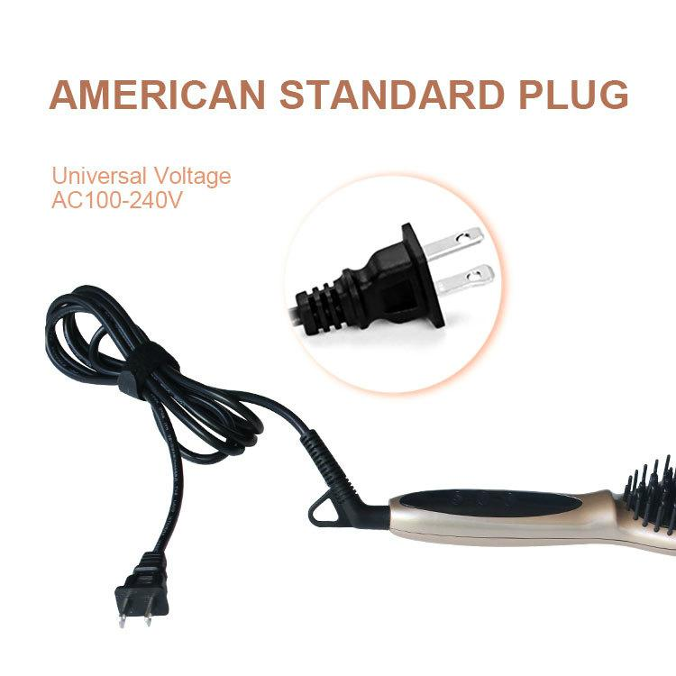 Magic Straight Hair Styling as seen tv Straightening Comb Fast Hair straightener 6