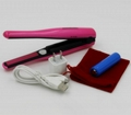 Battery Operate USB Charge Flat Iron Cordless hair straightener