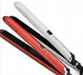 Anion Hair Straightening Flat Iron LCD Ceramic Hair Styling tool