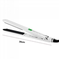 Anion Hair Straightening Flat Iron LCD Ceramic Hair Styling tool