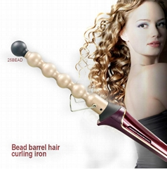 2017 NEW Bead shape barrel Curing iron LCD Bubble Hair Curing iron (Hot Product - 1*)