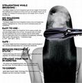 Steam  Electric Hair Brush Sprayer Hair Straightener Comb