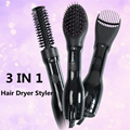 Hot Hair dryer Comb 3 IN 1 HAIR DRYER