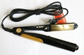 Oil infused flat iron Hair Straightener infused with oil