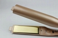 NEW Titanium Flat iron Fast Heating Twist Gold color Hair Straightener