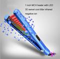 Negative ion Hair Straightener infrared hair flat iron Professional