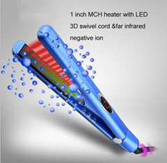 Negative ion Hair Straightener infrared hair flat iron Professional