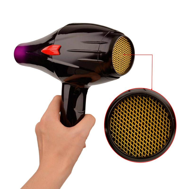 4000W Hair Dryer Hot / Cold Air Hair Fast Styling Blow Dryer with Two Nozzles 6