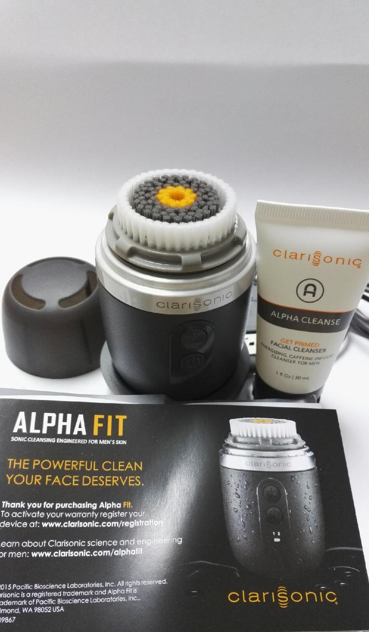 CLARISONIC Alpha Fit Facial Cleasing Brush for Men  5