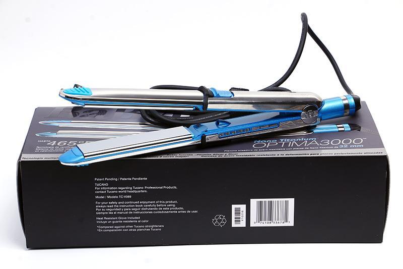 Stainless Pro Nano Titanium 1 inch PRIMA 3100 Flat Iron Straightener babyliss 4