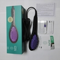 DAFNI Hair Straightening Brush Ceramic electric Comb