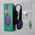 DAFNI Hair Straightening Brush Ceramic electric Comb