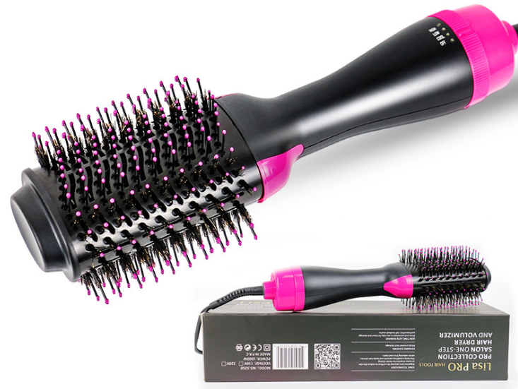 Lisa Pro Hair Dryer Curly Hair one step hair dryer and volumizer