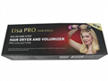 Lisa Pro electric hot air comb Curly Hair one step hair dryer and volumizer