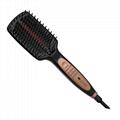Lescolton Professional Ionic infrared hair straightener brush