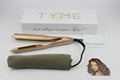 TYME Hair Styler Flat Iron Gold Plated Titanium Wholesale Price 1