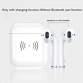 Built-in 450mAh Wireless Charge Case For Apple Bluetooth headset Airpods 2